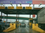 toll booth barrier image