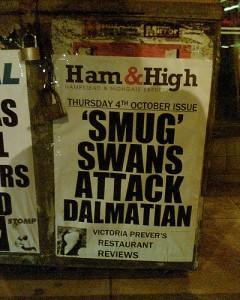 newspaper headline image