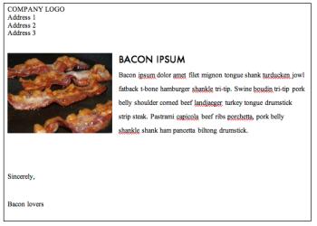 Bacon photo by cyclonebill (Bacon) [CC BY-SA 2.0 (http://creativecommons.org/licenses/by-sa/2.0)], via Wikimedia Commons